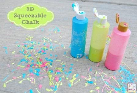 从Skip到我的Lou的3D可压缩粉笔