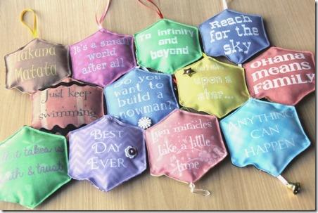Disney Movie Ornaments - Crafty Staci
