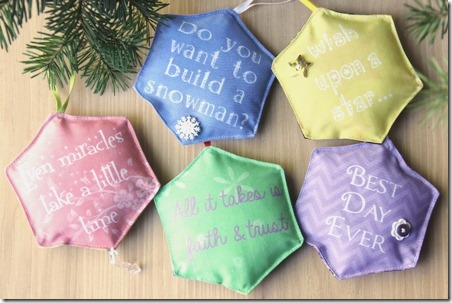 Disney Movie Quote Ornaments - Crafty Staci