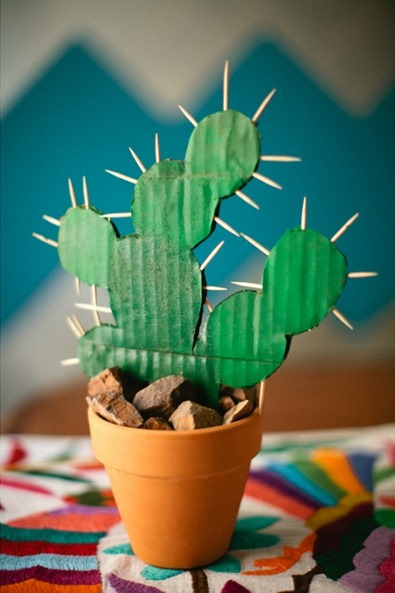 DIY Cactus Decor from Meg Ruth