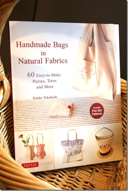 Handmade Bags in Natural Fabrics - Book Review by Crafty Staci 1