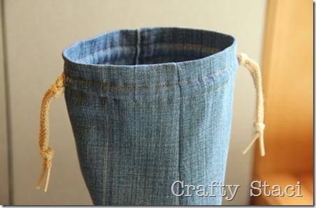 酸奶浴缸和牛仔裤抽绳包-Crafty Staci 8