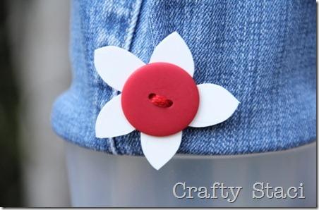 酸奶浴缸和牛仔裤抽绳包-Crafty Staci 9
