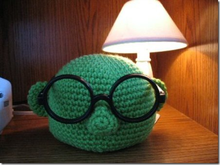 Muppet Glasses Holder from djonesgirl on Craftster