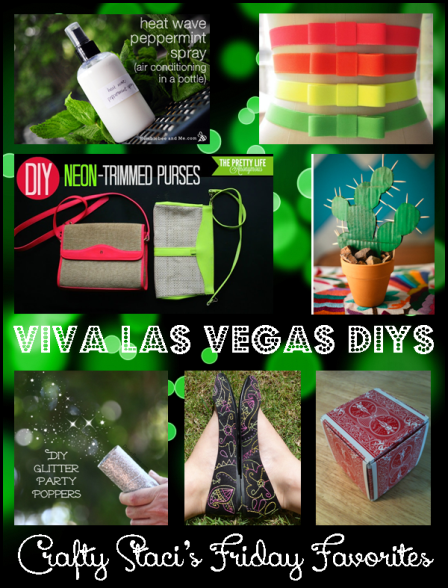 Friday Favorites - Viva Las Vegas DIYs