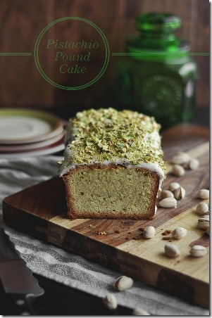 Pistachio Pound Cake by The Candid Appetite