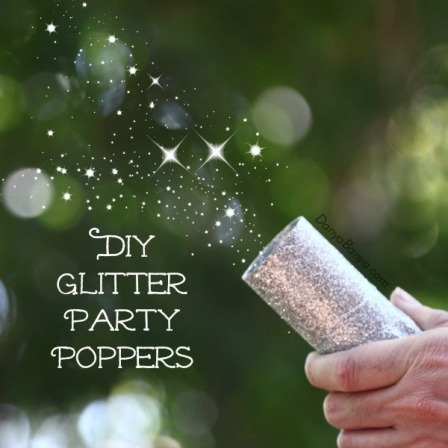 Glitter Party Poppers from Danya Banya
