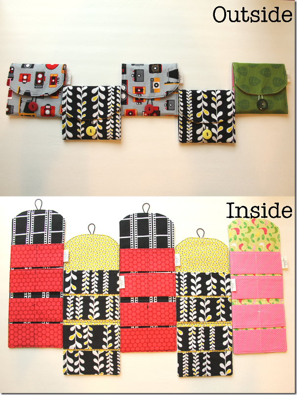 CF Card Wallets - Crafty Staci