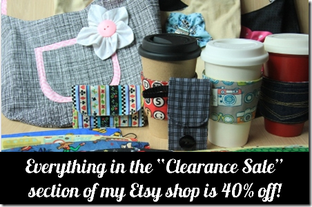 Etsy Clearance Sale Spring 2014 - Crafty Staci