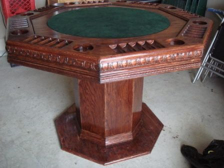 Poker Table from masterjeo on Instructables