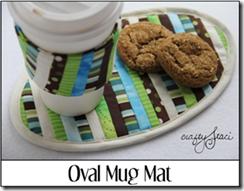 Oval Mug Mat