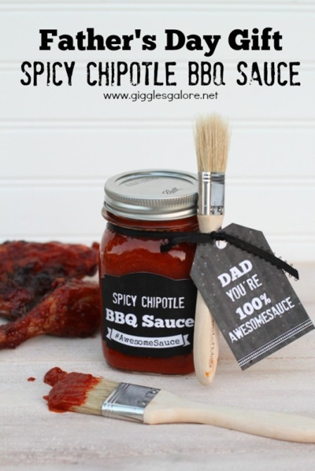 Spicy Chipotle BBQ Sauce from Giggles Galore