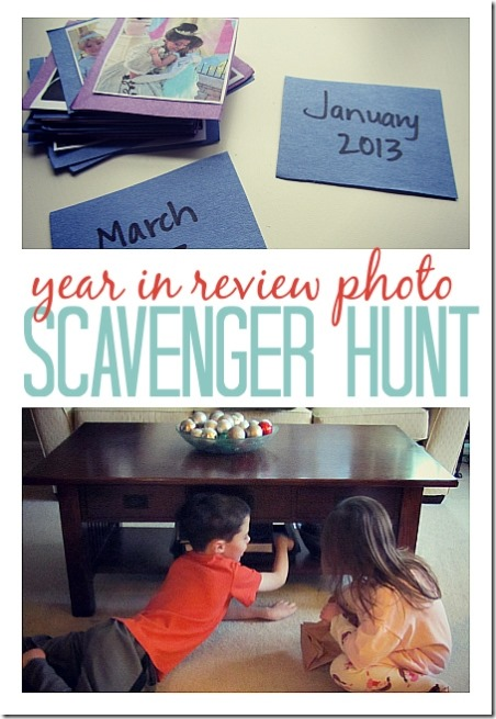 Photo Memory Scavenger Hunt from No Time for Flash Cards