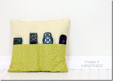 Remote Control Pillow from Make It Handmade