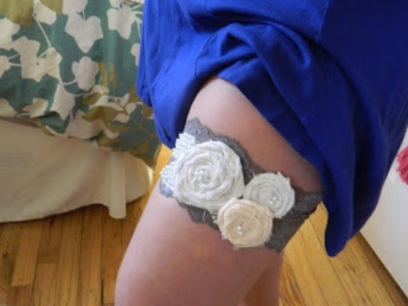 DIY Garter from So Sweet So Wild