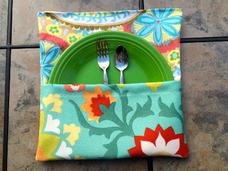 DIY瞄准高级妻子的户外餐垫