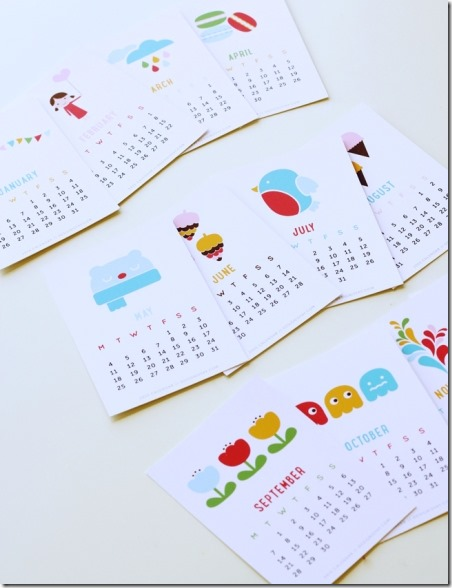 2015 Printable Calendar from Design is Yay