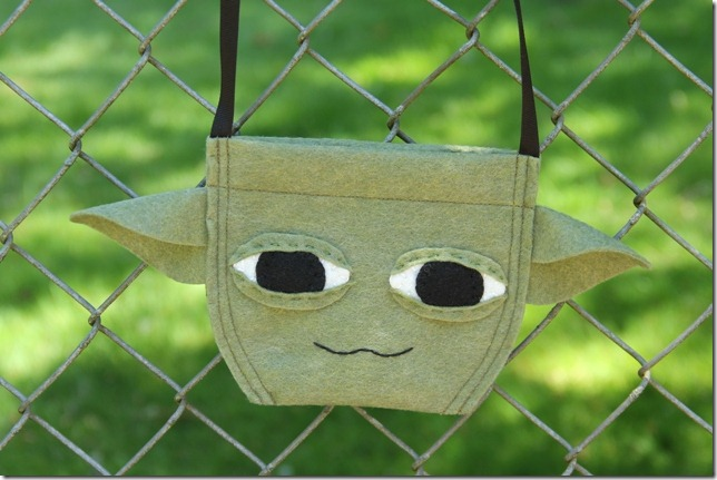 Yoda Bag - Crafty Staci 1