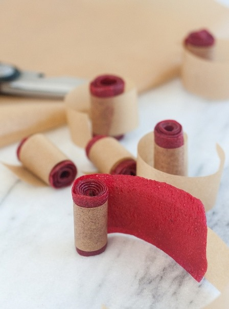 特蕾西的烹饪历程中的自制覆盆子水果皮