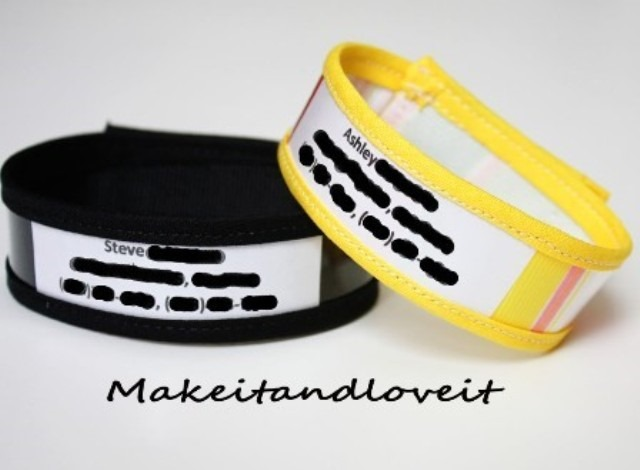 ID Bracelets from Make It and Love It
