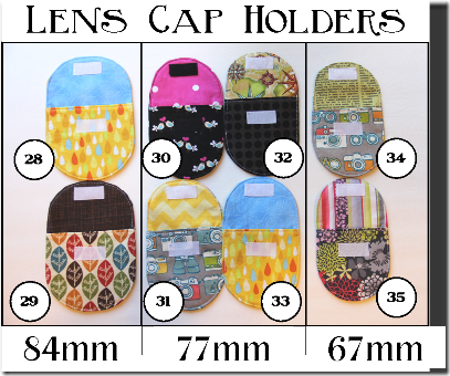 Lens Cap Holders - Crafty Staci