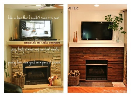 Fireplace Redo from Shannon Berrey