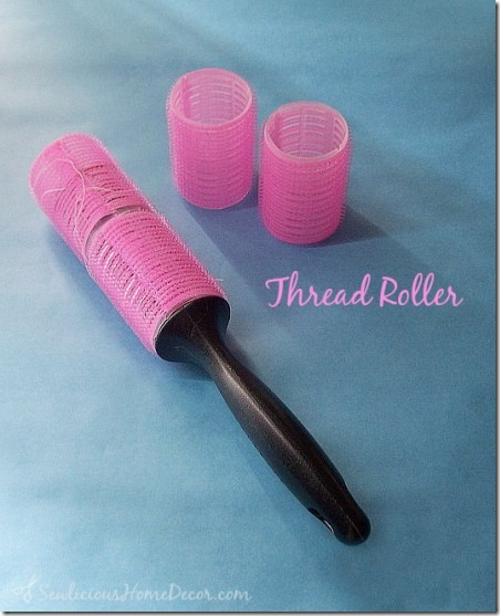 DIY Thread Roller from Sewlicious Home Decor