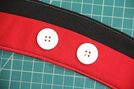 Adding Mickey's buttons