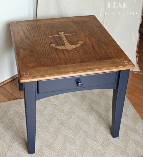 Anchor End Table from Dear Emmeline