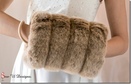 Faux Fur Muff from sewudesigns on Etsy