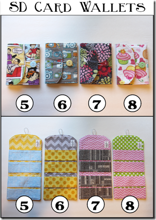 SD Card Wallets - Crafty Staci