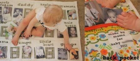 Family Tree Matching Game from So You Think You're Crafty