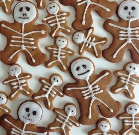 Gingerbread Skeletons from Total Bristol