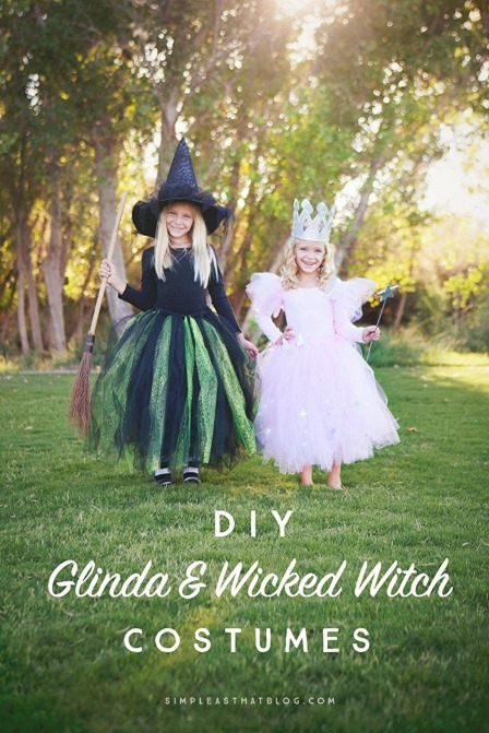 Glinda and Wicked Witch from Simple as That