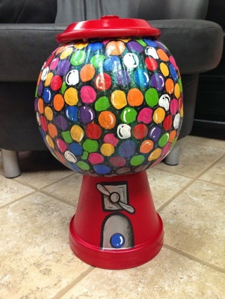 Gumball Machine Pumpkin from My Cherry Topped Life