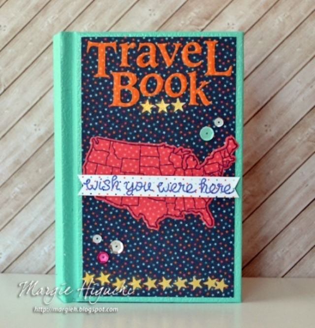 Travel Book from Scrapbook Adhesives