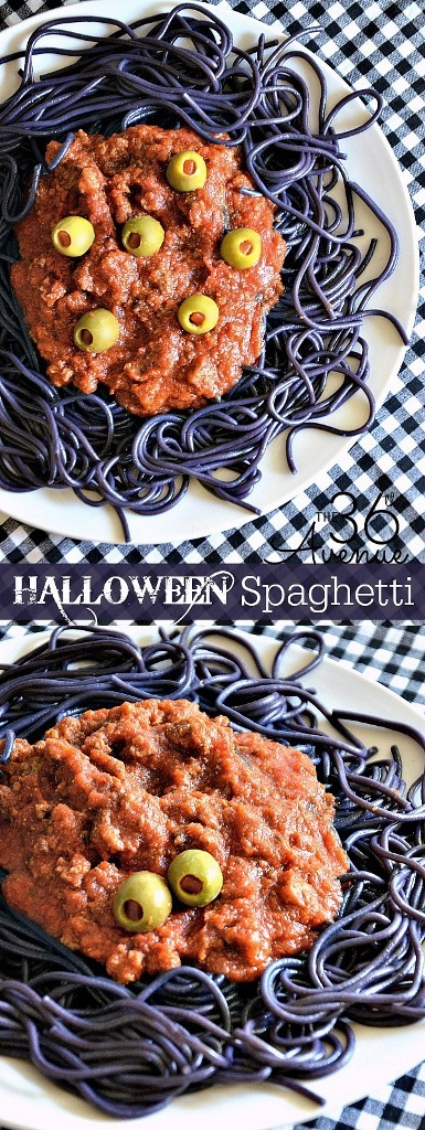 Halloween Spaghetti from The 36th Avenue