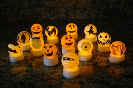 Halloween Tea Lights from Boo Turtle