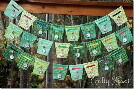 Christmas Countdown Banner - Crafty Staci 18