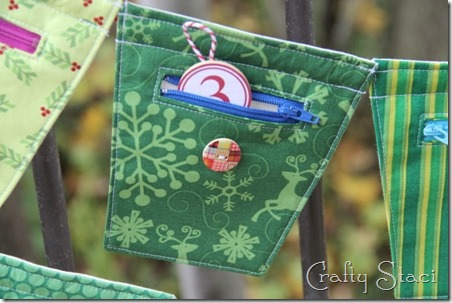 Christmas Countdown Banner - Crafty Staci 19