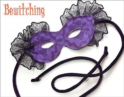 Jeweled Spider Mask from Sew4Home