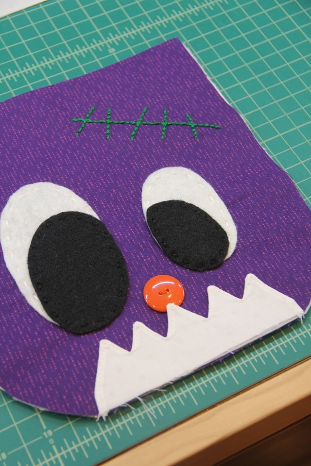 Layering for stitching
