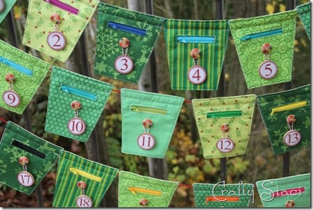 Christmas Countdown Banner - Crafty Staci 1