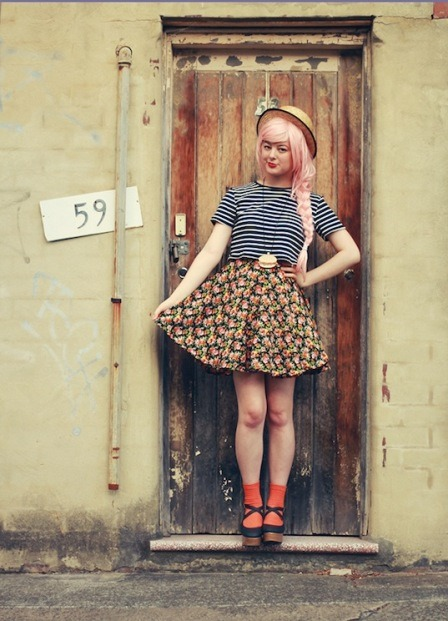 Make Your Own Circle Skirt from Birdee Mag