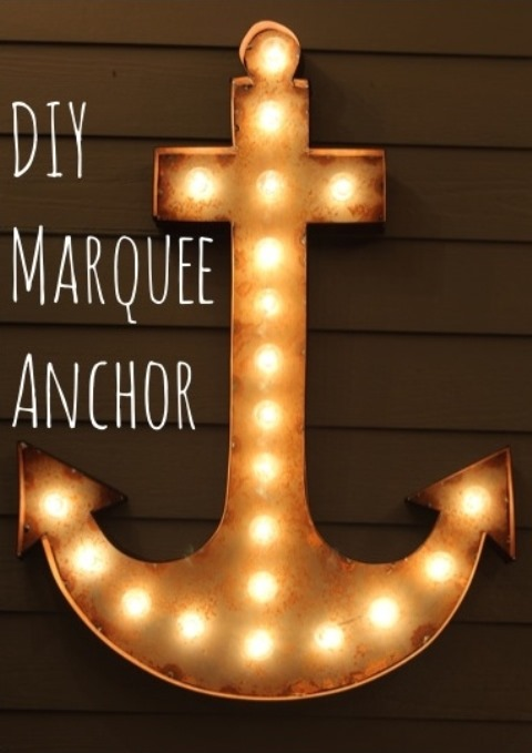 Marquee Anchor from Simple Stylings