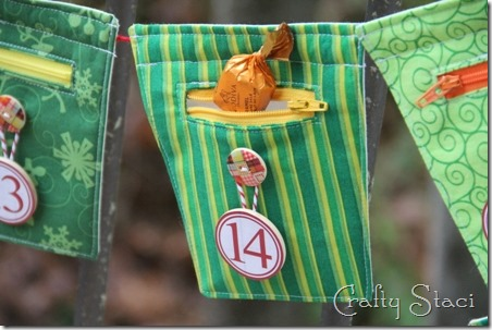 Christmas Countdown Banner - Crafty Staci 20