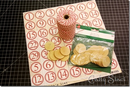 Christmas Countdown Banner - Crafty Staci 15