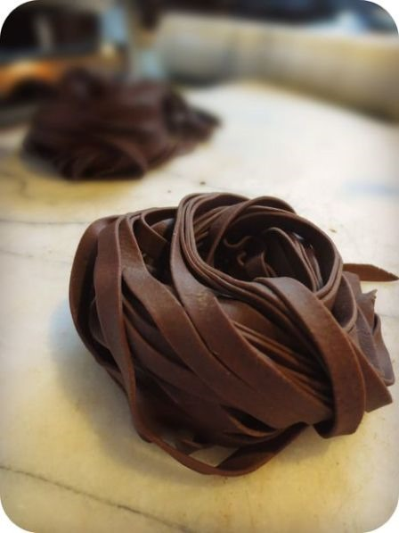 Chocolate Pasta from TheBrooklynRagazza on Instructables