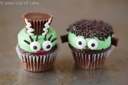Mr and Mrs Frankenstein from Your Cup of Cake