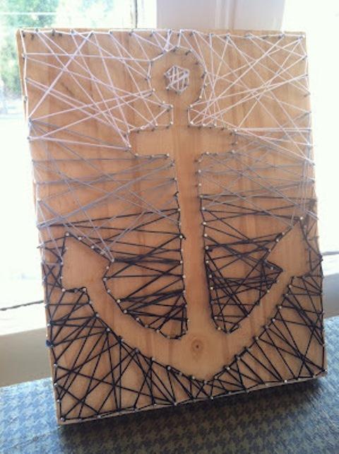 Ombre String Art from Kaliedub